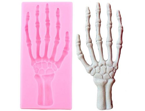 Bone Skeleton Large Hand Silicone Mold