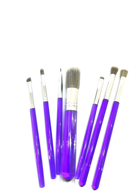 Purple Brush Set 7pc