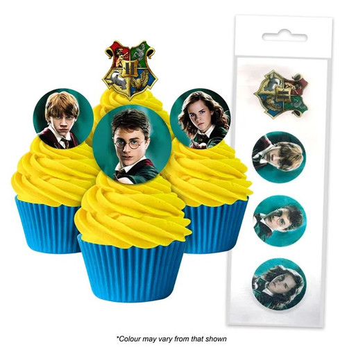 Edible Wafer Toppers - HARRY POTTER