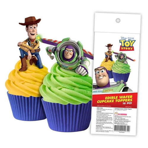 Edible Wafer Toppers - TOY STORY