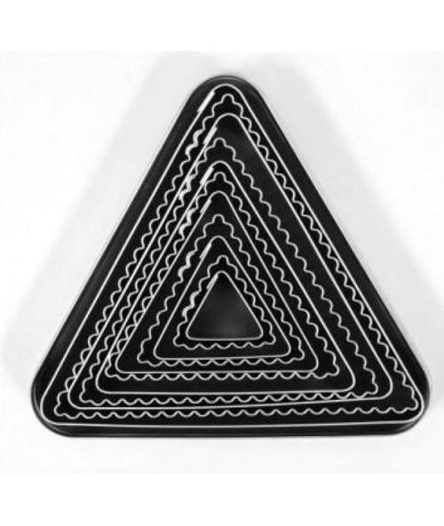 Loyal Tin Plate Cutter Set- TRIANGLE