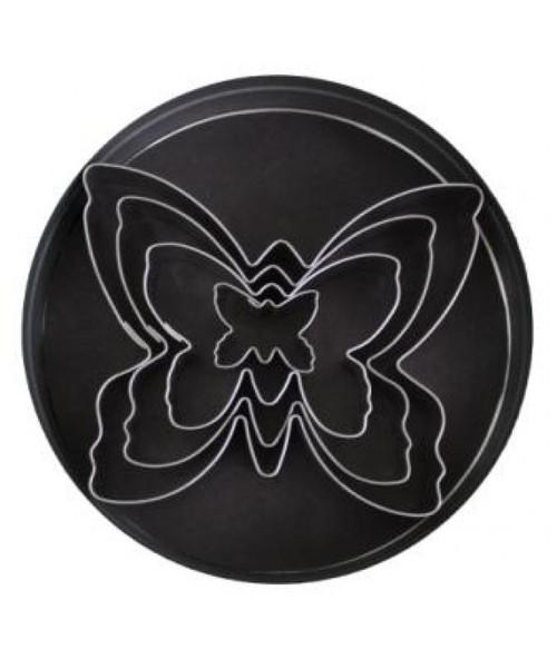 Loyal Tin Plate Cutter Set-BUTTERFLY