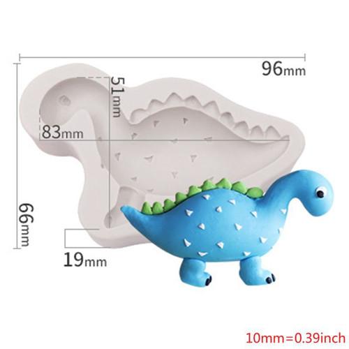 Silicone Mold - Baby Stegosaurus