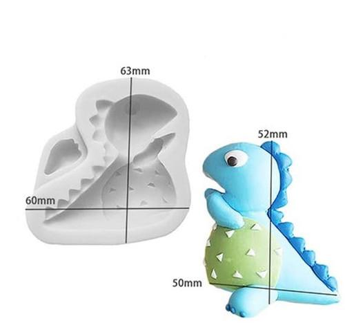 Silicone Mold- Baby Dino