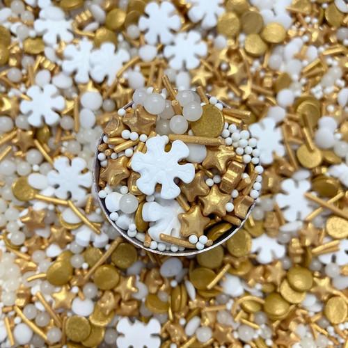 Sprinkle Mix-Golden Glamour 100g