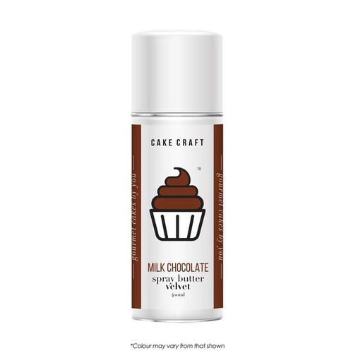Spray Butter Velvet-Milk Chocolate 400g