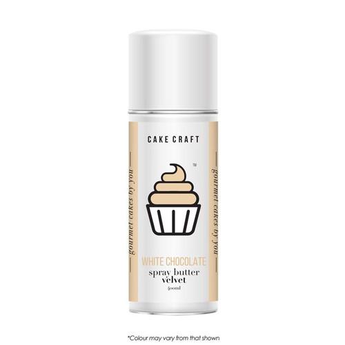 Spray Butter Velvet-White Chocolate 400g