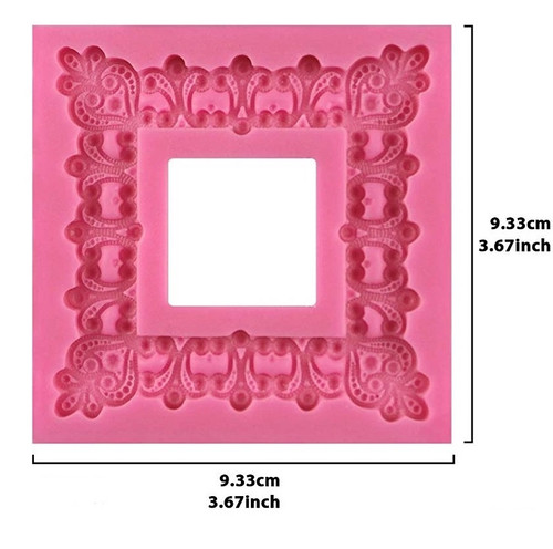 Large Square Plaque(Mirror) Silicone mold
