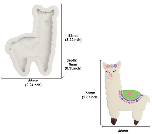 Llama Silicone Mold