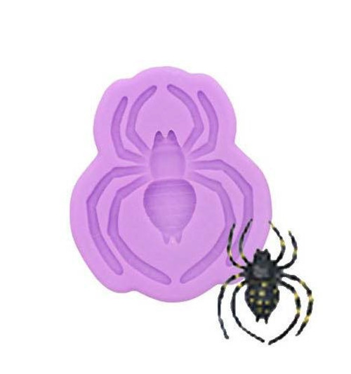 Scary Spider Silicone Mold