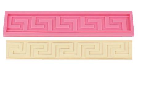 Greek Key Pattern silicone Mold