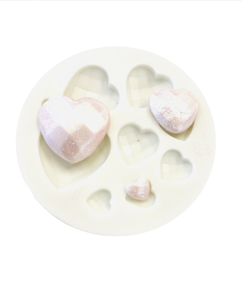 Heart Gems Silicone Mold