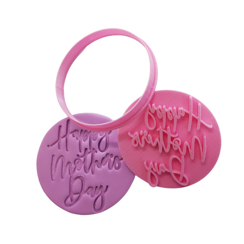 Cookie Cutter and Embosser - Happy Mother's Day