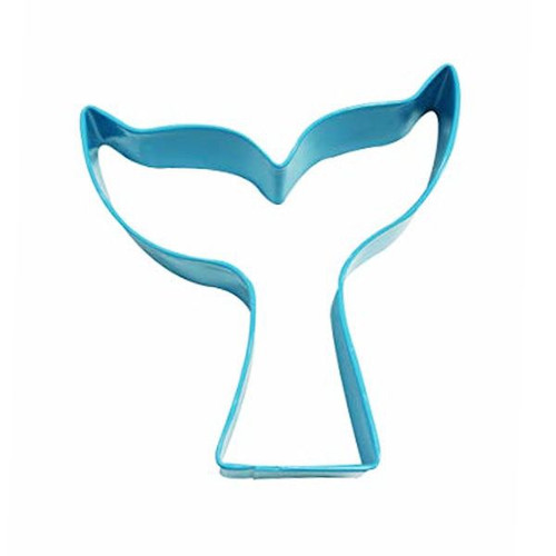Mermaid Tail Tin Plate Cookie Cutter