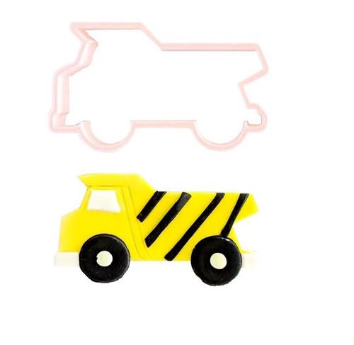 Dump Truck Plastic Cookie Cutter