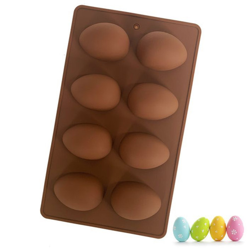 Easter Egg 8 Cavity Silicone Mold