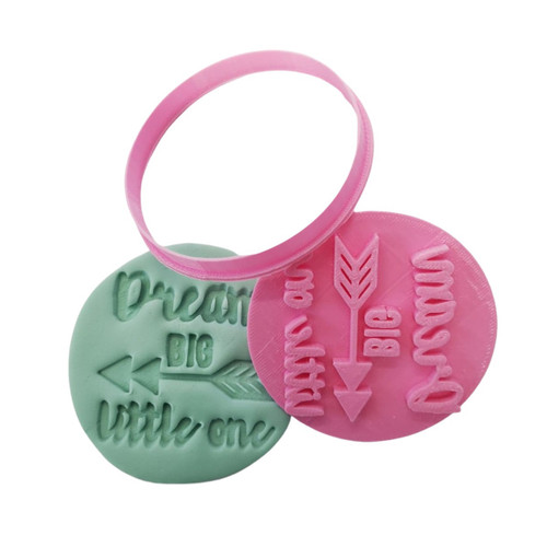 Dream Big Little One Cookie Cutter and Embosser