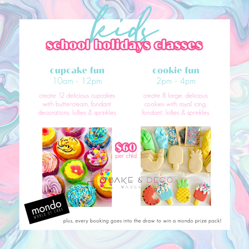 Kids School Holidays Classes - APRIL 2021