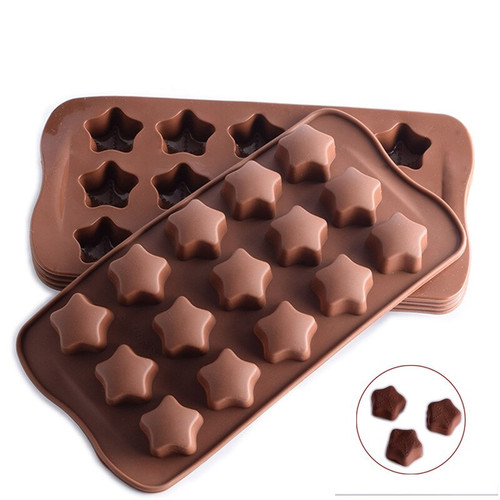 Stars 15 Cavity Chocolate Mold