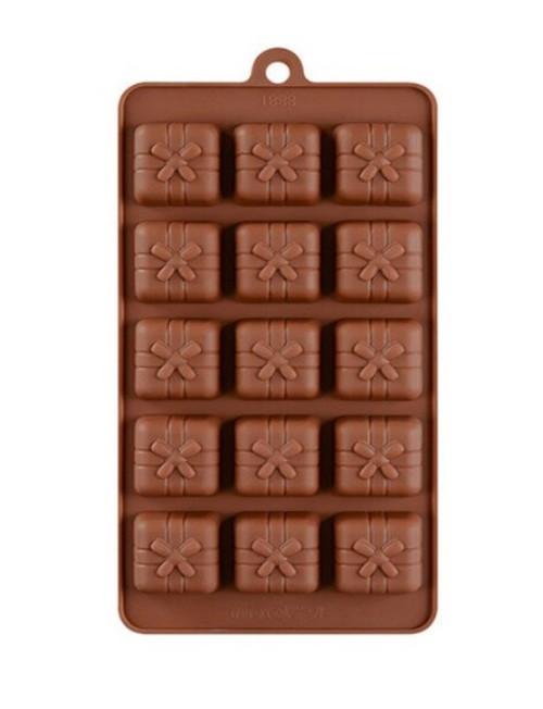 Gift Box 15 Cavity Chocolate Mold