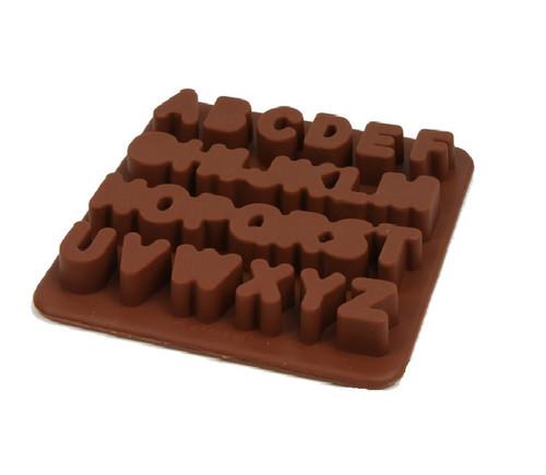 Large Alphabet Chocolate Mold (A-Z)