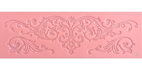 Antique Scroll Lace Mat