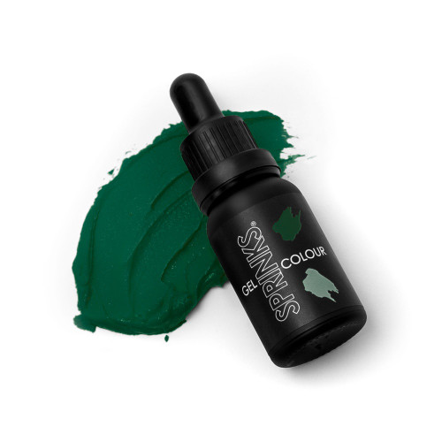 Forest Green Gel Colour 15ml