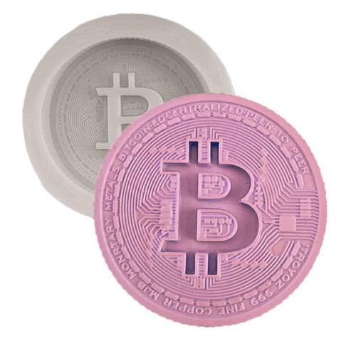 Bitcoin Silicone Mold