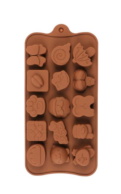 Random Assorted (Style 1) 15 Cavity Chocolate Mold