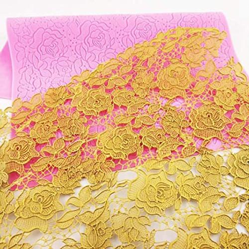 Rose Flowers Lace Mat