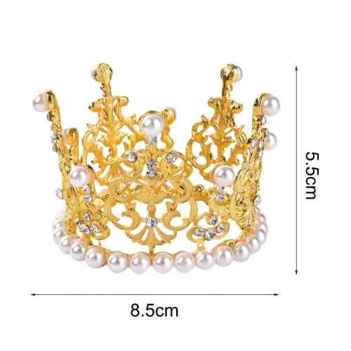 Golden Crown Cake Topper