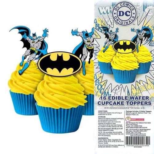 Edible Wafer Toppers - Batman