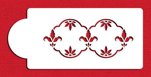 Fleur de lis C003 Stencil