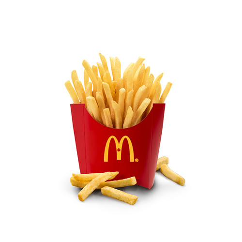 Mcdonald's Fries Plastic Cutter with Logo
