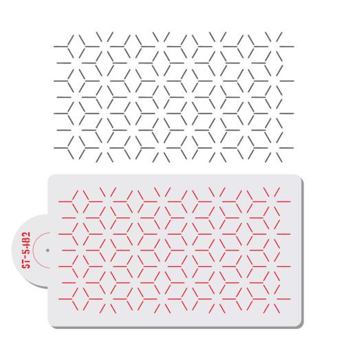 Geometric Spaced Cube Stencil