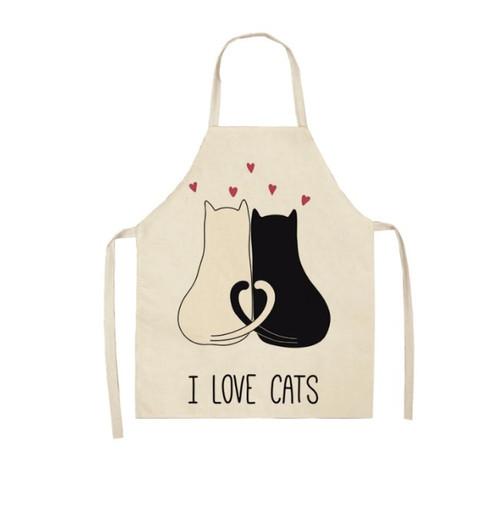 I Love Cats Apron
