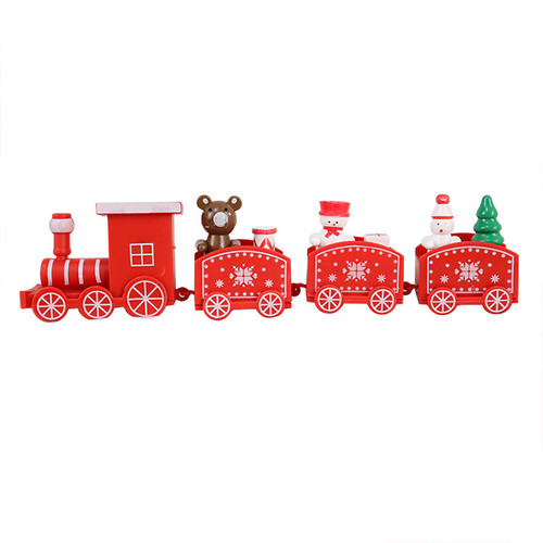 Christmas Train Cake Topper-Red