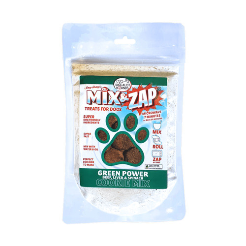 Cookie Mix Green Power – Beef, Liver & Spinach