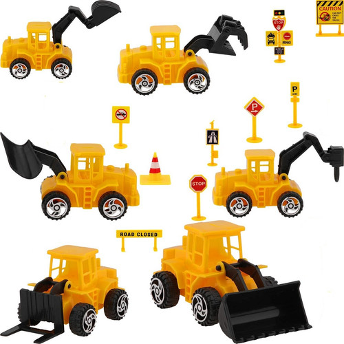 Construction Cake Toppers 15pc