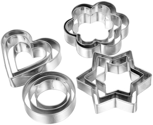 Primary Shapes Cookie Cutter 12pc Set