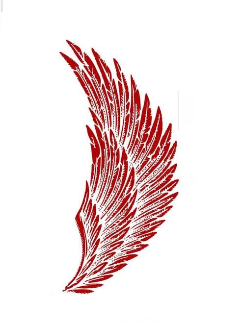 Native American Eagle Wing Stencil
