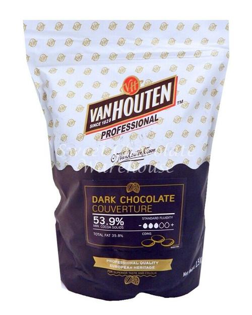 Van Houten Professional Dark Chocolate 1.5kg