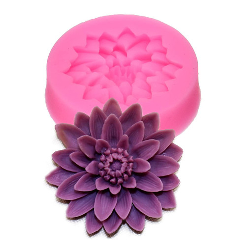 Lotus Flower Silicone Mold