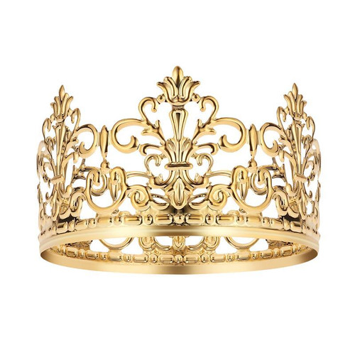 Crown Cake Topper-Gold