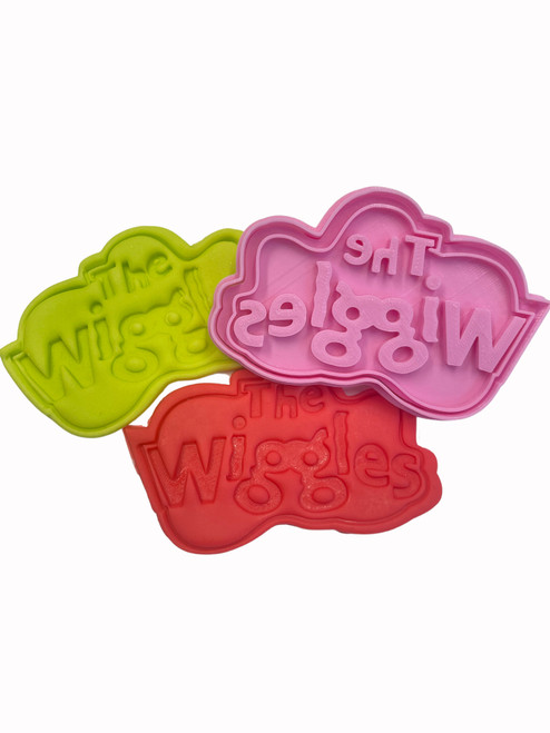 The Wiggles Cookie Cutter and Embosser