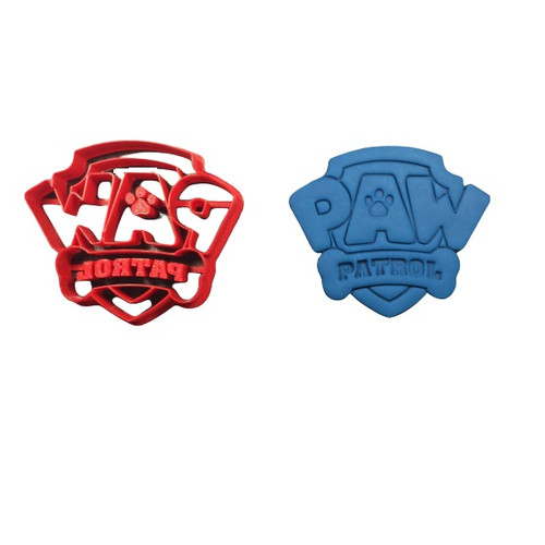 Paw Patrol Cookie Cutter and Embosser