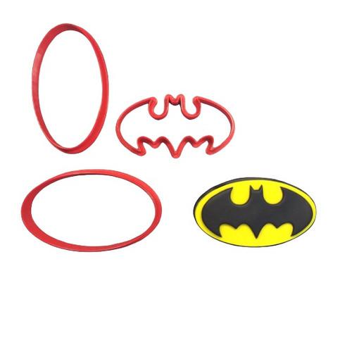 Batman Logo Cookie Cutter and Embosser