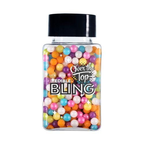 Bling Sprinkles-Rainbow Pearls 70g