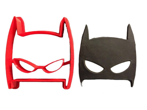 Spider man Face Mask Cookie Cutter