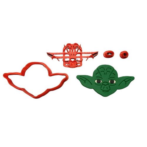 Yoda Star Wars Cookie Cutter and Embosser